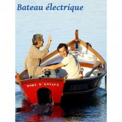 Libertine bateau électrique - 4 places - Dès 30 €