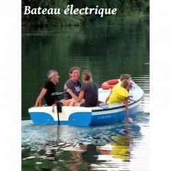 La Boutonne bateau électrique - 4 places - Dès 30 €