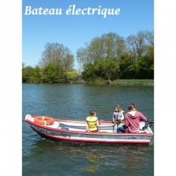 Location de bateau électrique sur la Charente entre saintes La Rochelle Rochefort et Saintes
