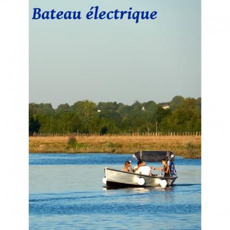 L'Angélique bateau électrique - 5 places - Dès 37 €
