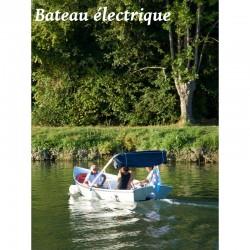 L'Iris bateau électrique - 5 places - Dès 37 €