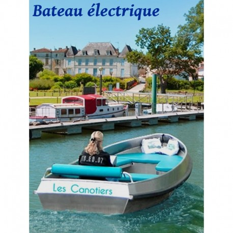 L'Antenne bateau électrique - 8 places - Dès 56 €
