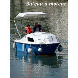 La Péruze bateau moteur sans permis - 5 places -  Dès 43 €