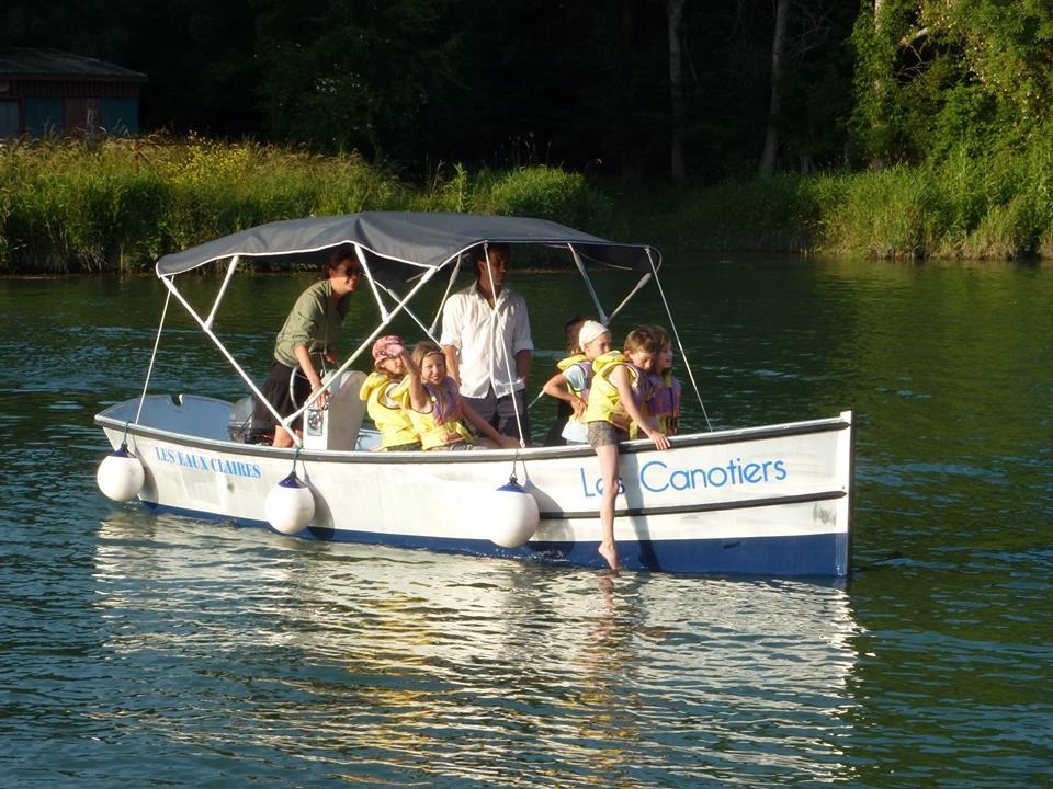 bateau famille port d'envaux