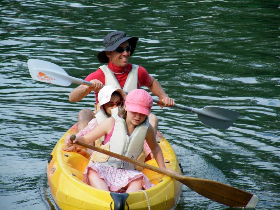 location de canoë kayak sur la charente
